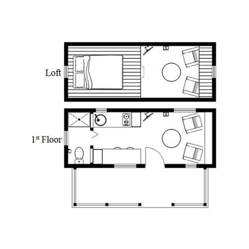 The Humblebee Tiny House With A 100 Sq Ft Porch Humble