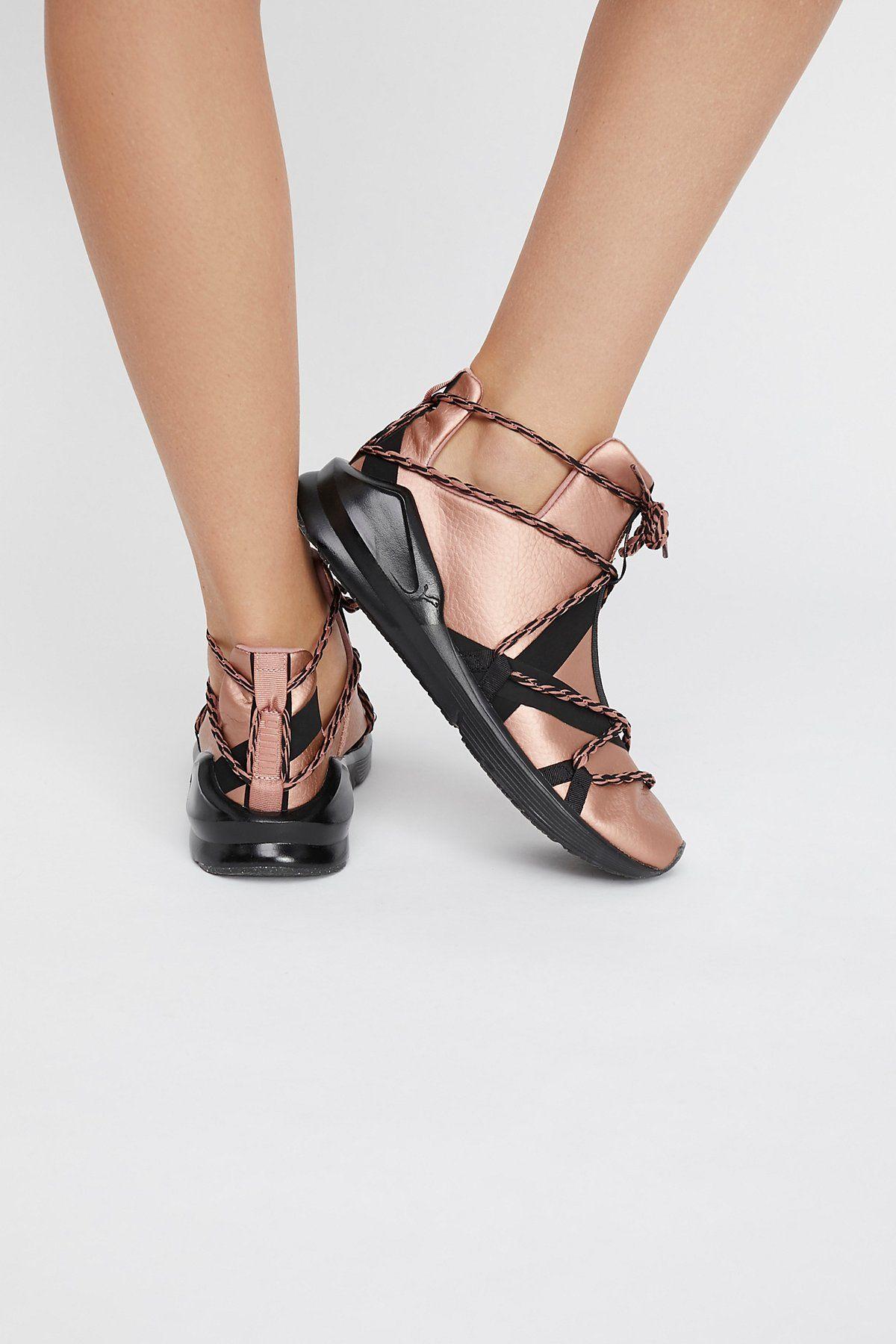 Copper Fierce Rope High-Top Sneaker