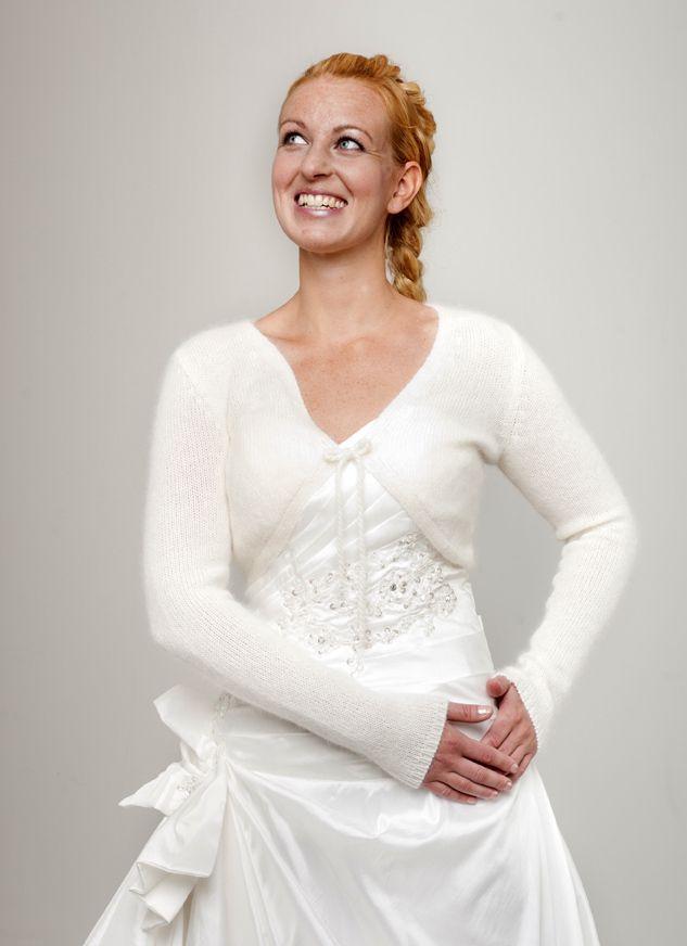 Strickset ANGORA Cardigan Marie für ihr Brautkleid stricken | N&G ...
