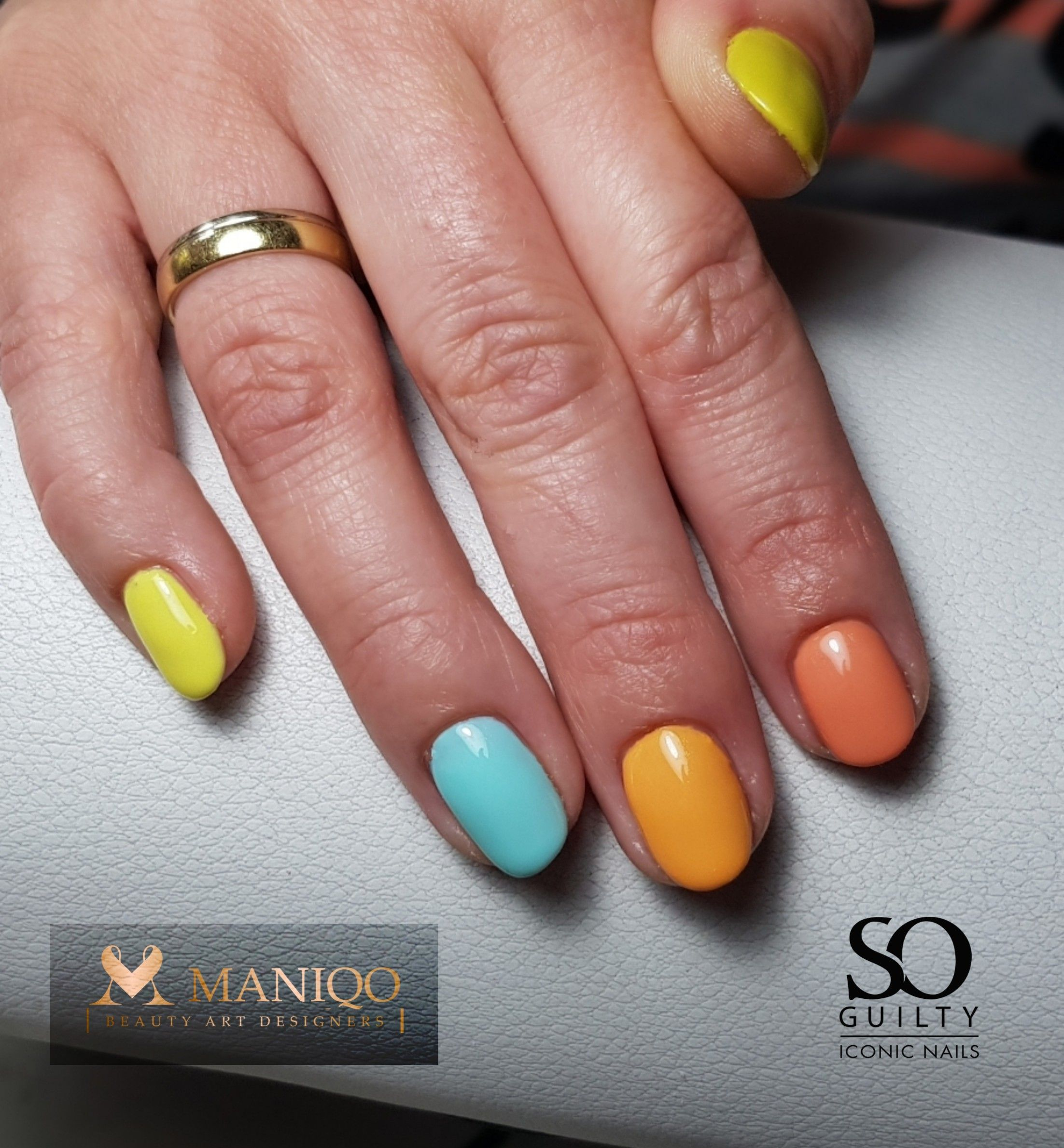Rainbow Nails In 2020 Visagie Nagels Kapper