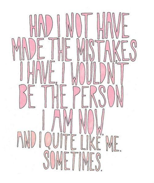 i quite like me. sometimes.