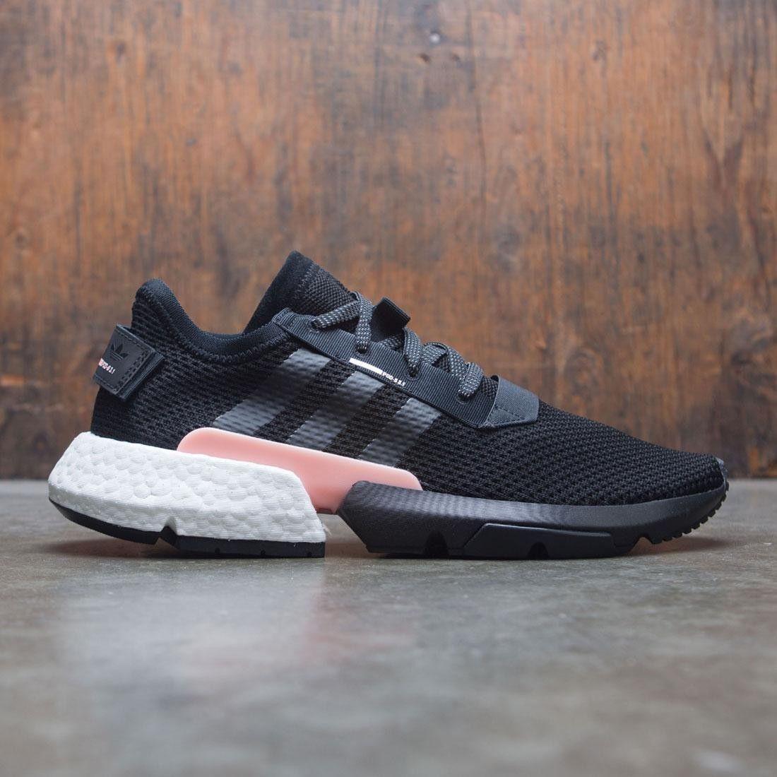 Adidas Men POD S3.1 (black core black clear orange