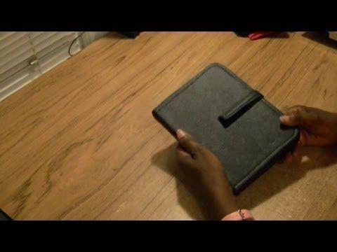 DIY Ipad Or Tablet Case - YouTube