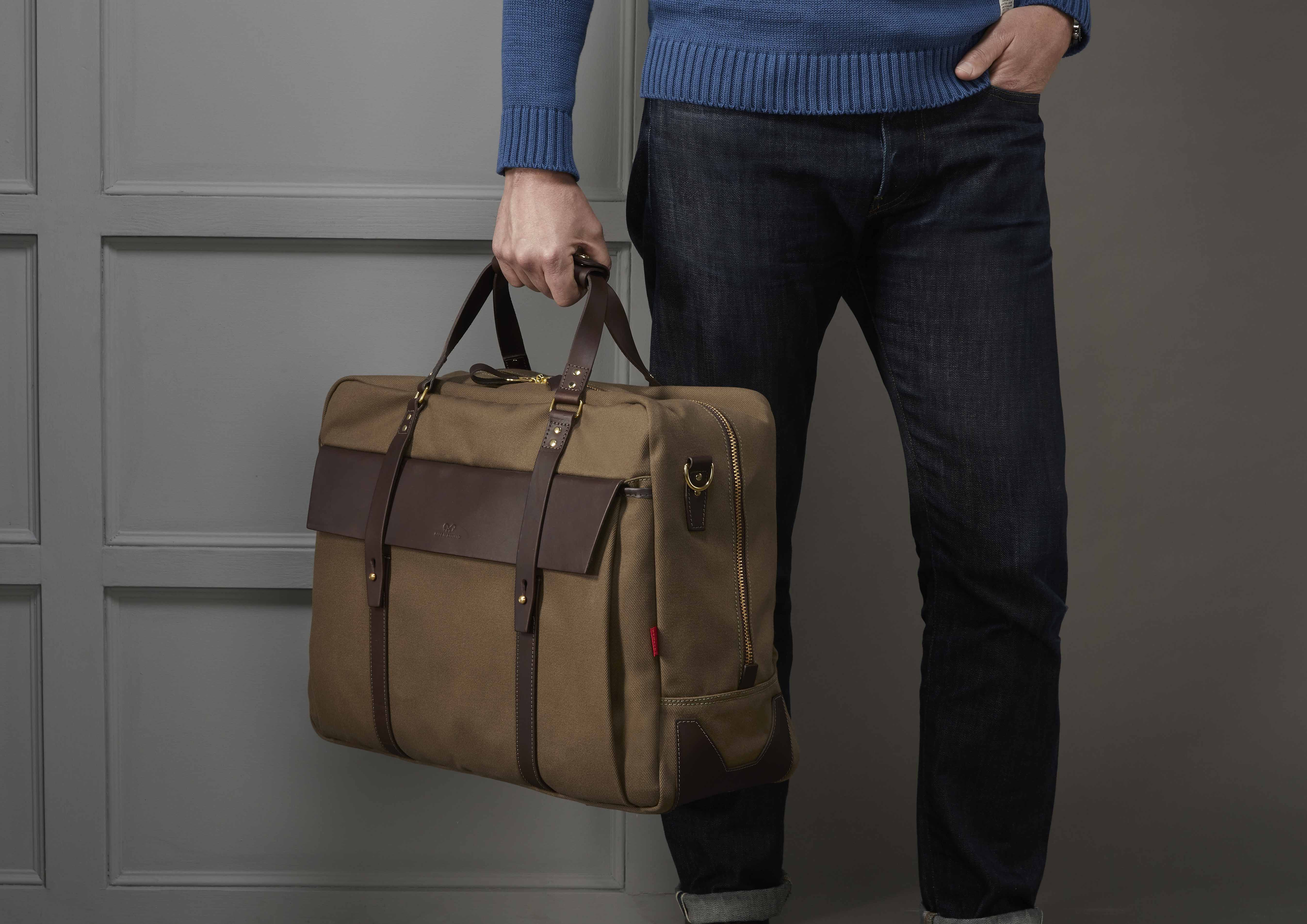 The Helmsdale Holdall in , a men s carry on holdall suitable for business  trips and long 0342f0b269