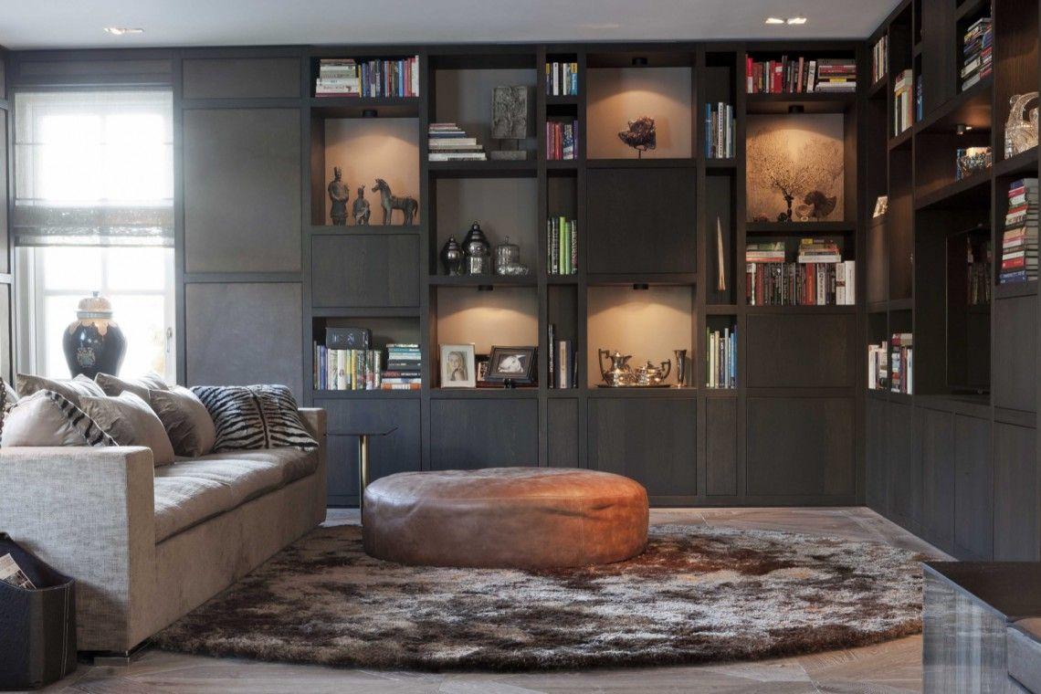 Studio de blieck interior design cosy boekenkasten in 2019