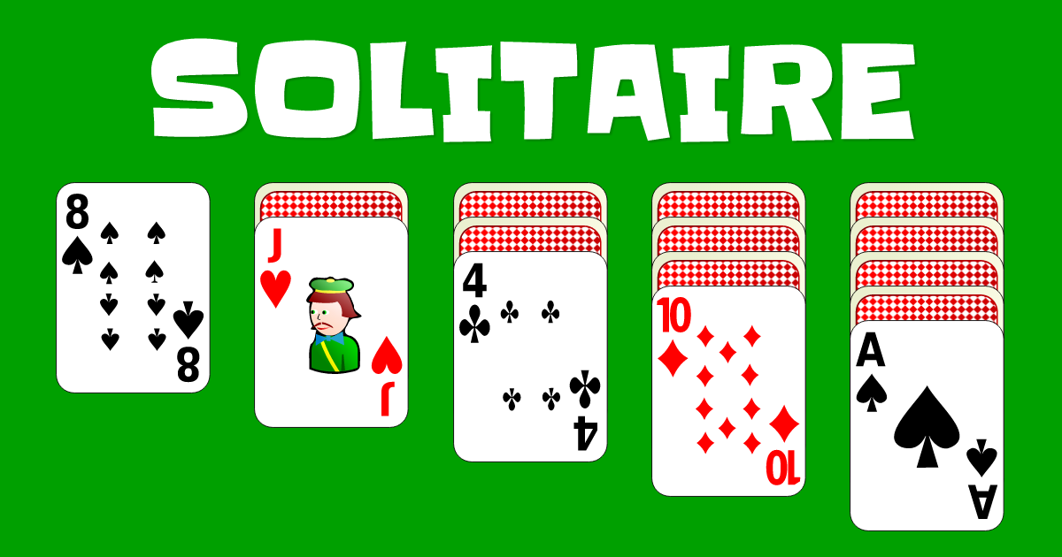 Solitaire | Solitaire games, Solitaire card game, Playing solitaire