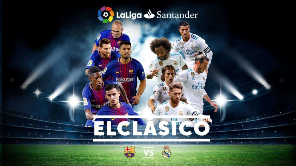 The Dates Of Barcelona Vs Real Madrid 2020 Fixtures When Is The Next El Clasico The Second Cla In 2020 Barcelona Vs Real Madrid Real Madrid And Barcelona Real Madrid