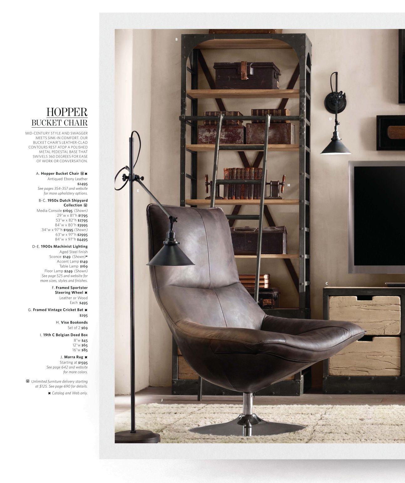 2012 Fall Catalog | Restoration Hardware love this chair