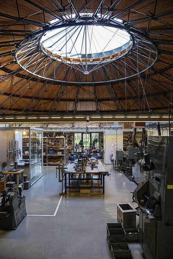 David Mellor Round Building Cutlery Factory Interior