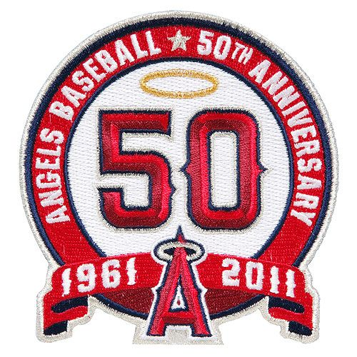 angels 50th anniversary logo