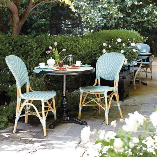 Best Small Outdoor Tables Chairs Paris Bistro Lacko Eames 5