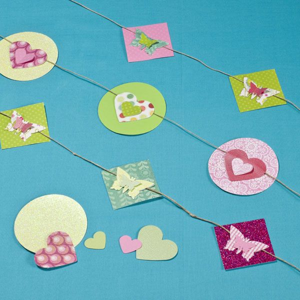 Beautiful Paper Buntings You Can See How It Is Made And Also Shop For The Essential Materials Paper Crafts Cards Craft Supplies Online Hobbies And Crafts