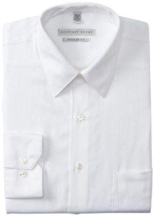 680b1bf832 Amazon.com  Geoffrey Beene Men s Regular-Fit Sateen Dress Shirt  Clothing