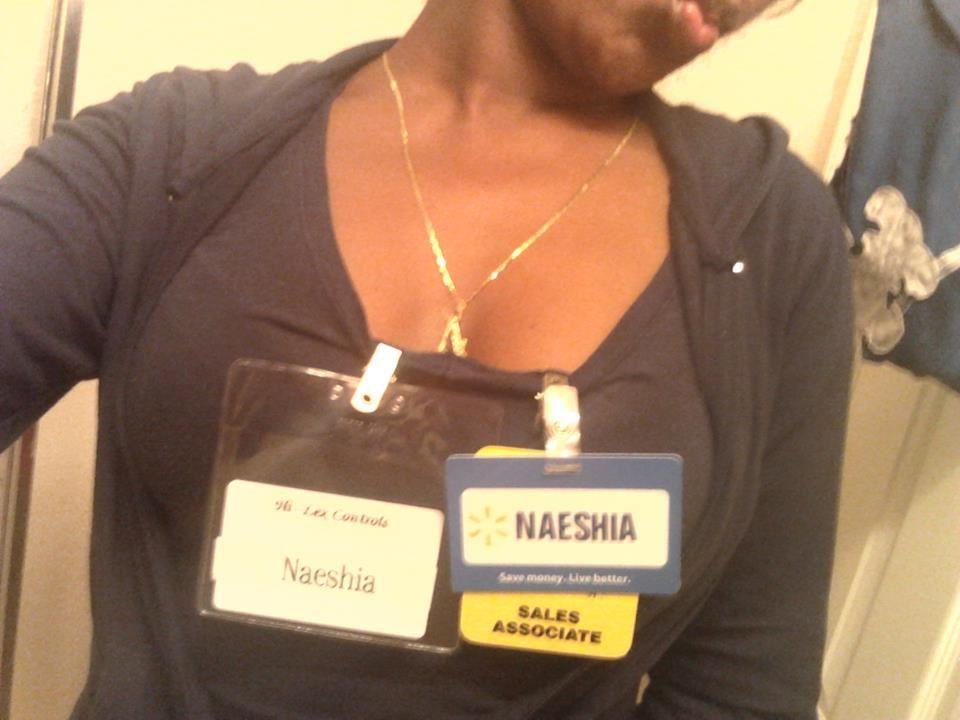 Naeshia Is Working At Walmart  Two Days Before My Nd Birthday