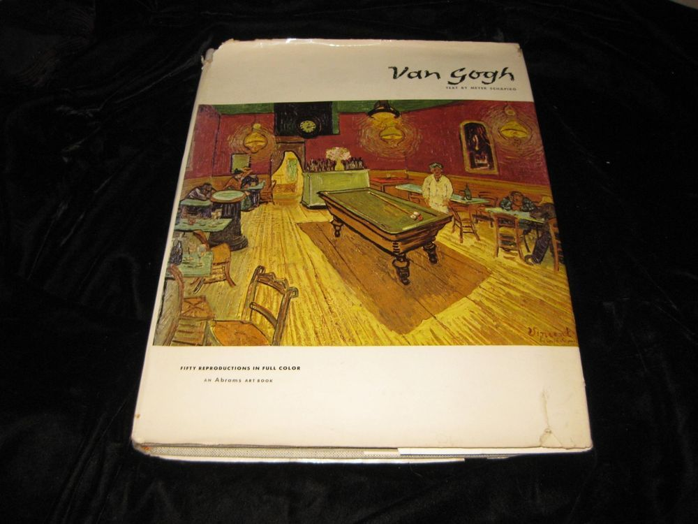 van gogh ~color laid in plates~hb dj~ large coffee table book