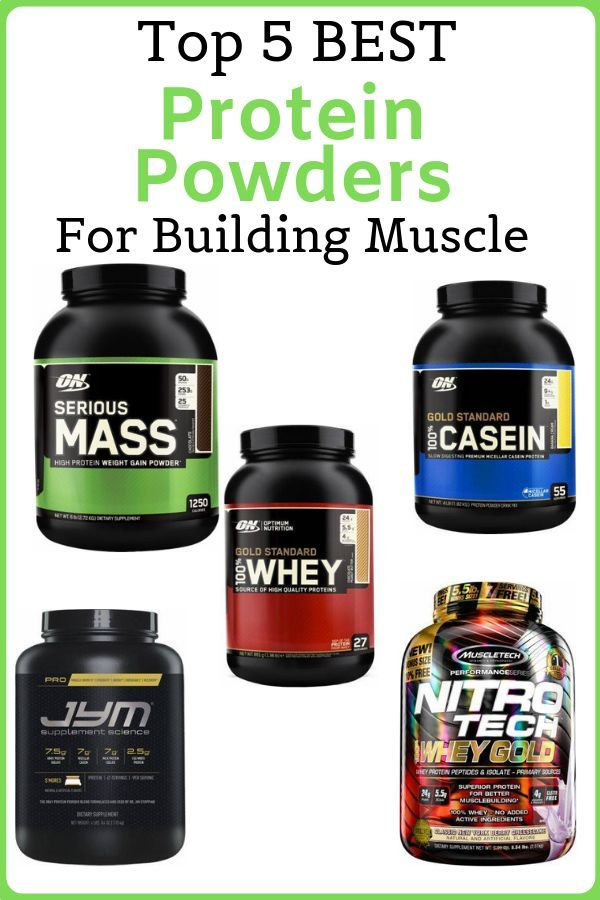 Check Our Post On Top 5 Best Protein Powders For