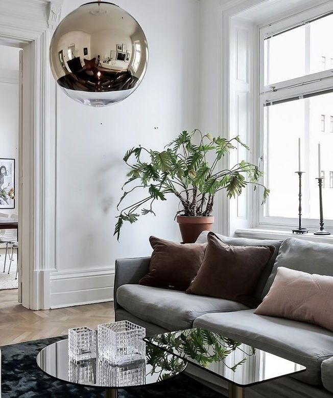 Simple And Classy Home Scandinavian Design Living Room Elegant