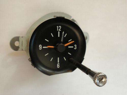 1979 1981 Chevrolet Camaro Clock 1980 Will Also Fit 1970 1971 1972 1973 1974 1975 1976 1977 1978 Omicron Clock Camaro Car Clock Chevrolet