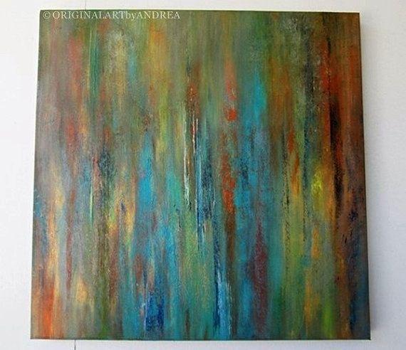painting on canvas abstract art original acrylic painting rh pinterest com