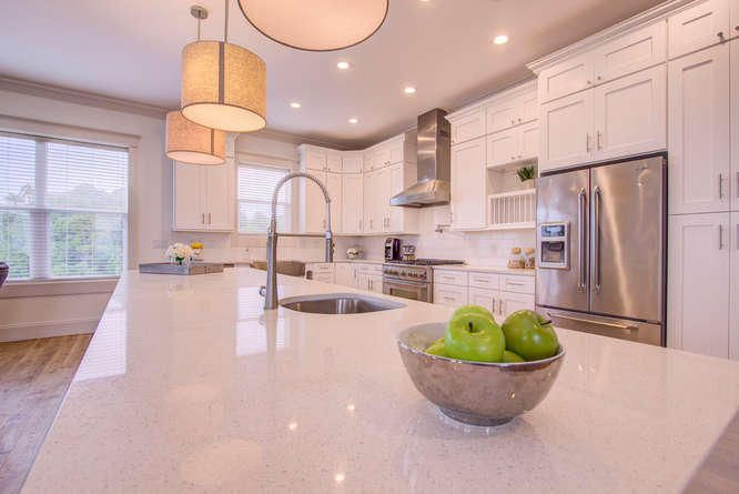 This modern kitchen is a chef's paradise! 7 bedroom & 7 baths, beautiful designer furnishings, elevator, Media Room, Game Room 2 Laundry Areas and your private pool complete this incredible property.   bit.ly/38SantaClara