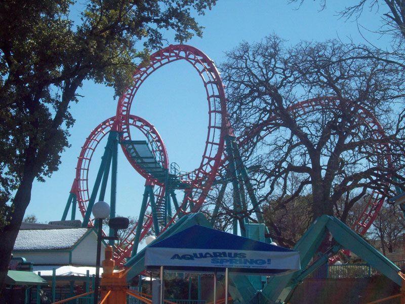 Flashback Six Flags Over Texas Arlington Texas Usa Six Flags Over Texas Roller Coaster Ride Six Flags