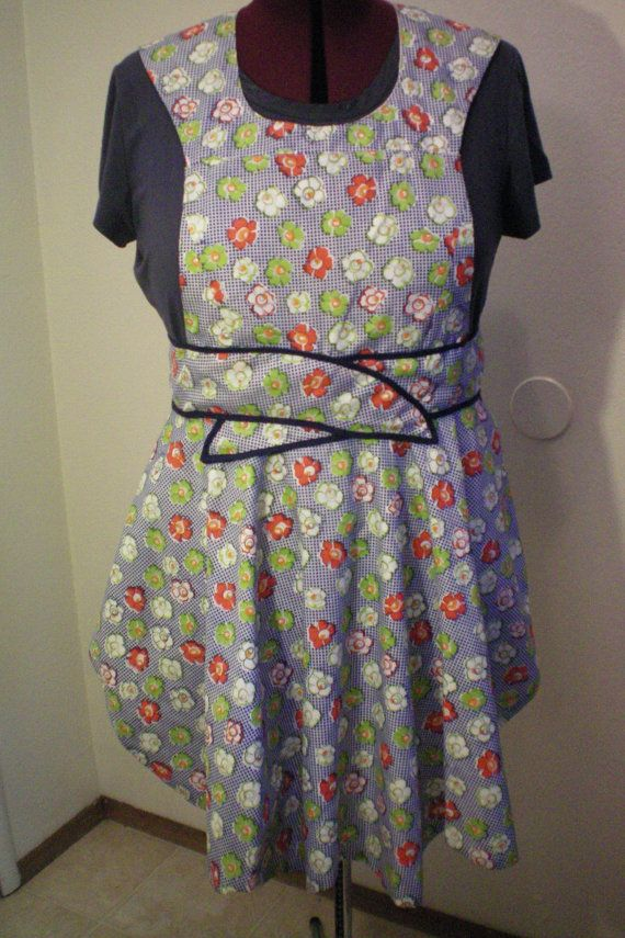 Vintage style fabric and an old fashion by funandfancybysandi, $35.00