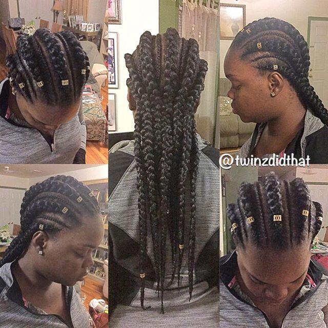 crotchet braids #crotchetbraids Style: 7 big cornrows/6 small cornrows #ghanabraids #simplestyle #braids #boxbraids #cornrows #hairstyle #naturalhair #protectivestyle #protectivestyles #natural #melanin #neatbraids #cute #style #summer #summerhair #feedinbraids #feedincornrows #longbraids #blackhair #fbf #hairstyle #bigcornrows #melaninpoppin #teamnatural #teamnatural_ #naturallyshesdope #fallhair