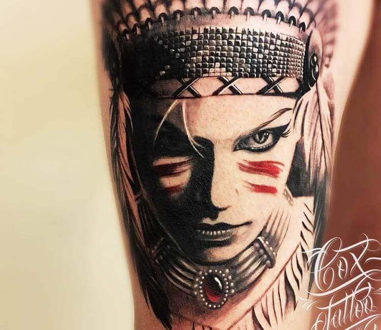 Pin on Wild girl Tattoo Gallery
