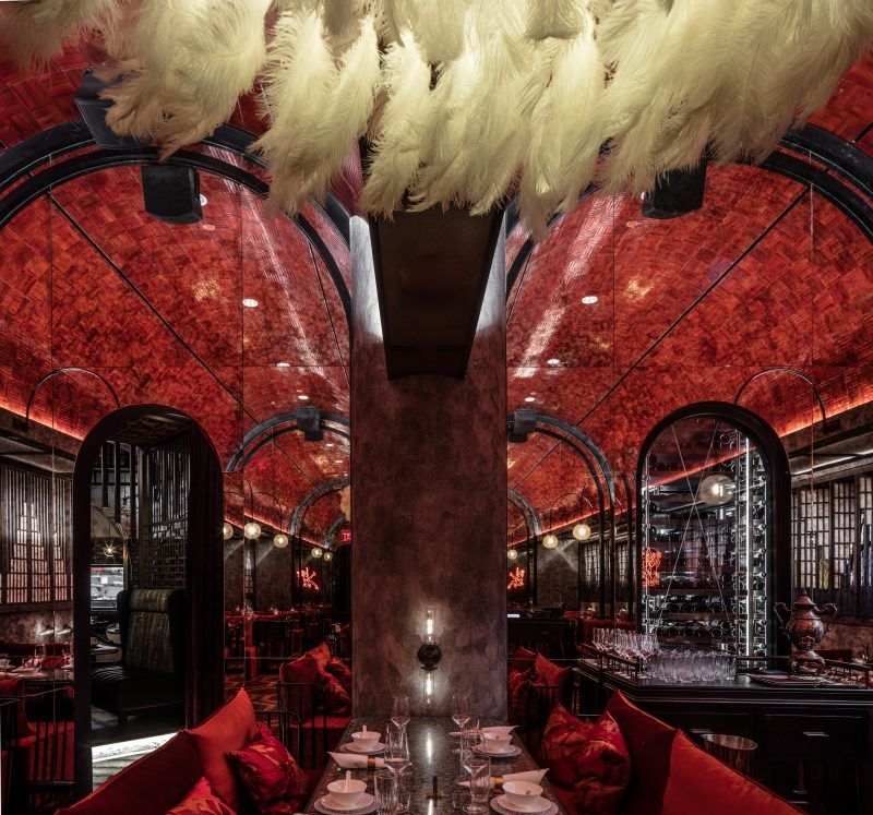 Joyce Wang Is Capable Of Designing Spaces That Will Make People Feel Great Ain T That What We Re All Looki In 2020 Bar Design Awards Bar Design Restaurant Bar Design