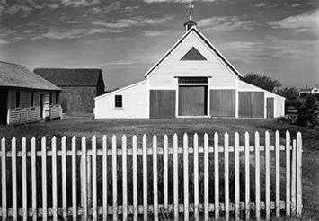 Barn, Cape Cod by Ansel Adams