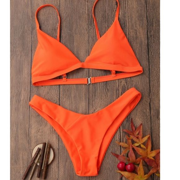 a0572b845e Shop Women's Orange size Various Bikinis at a discounted price at Poshmark.  Description: Bright