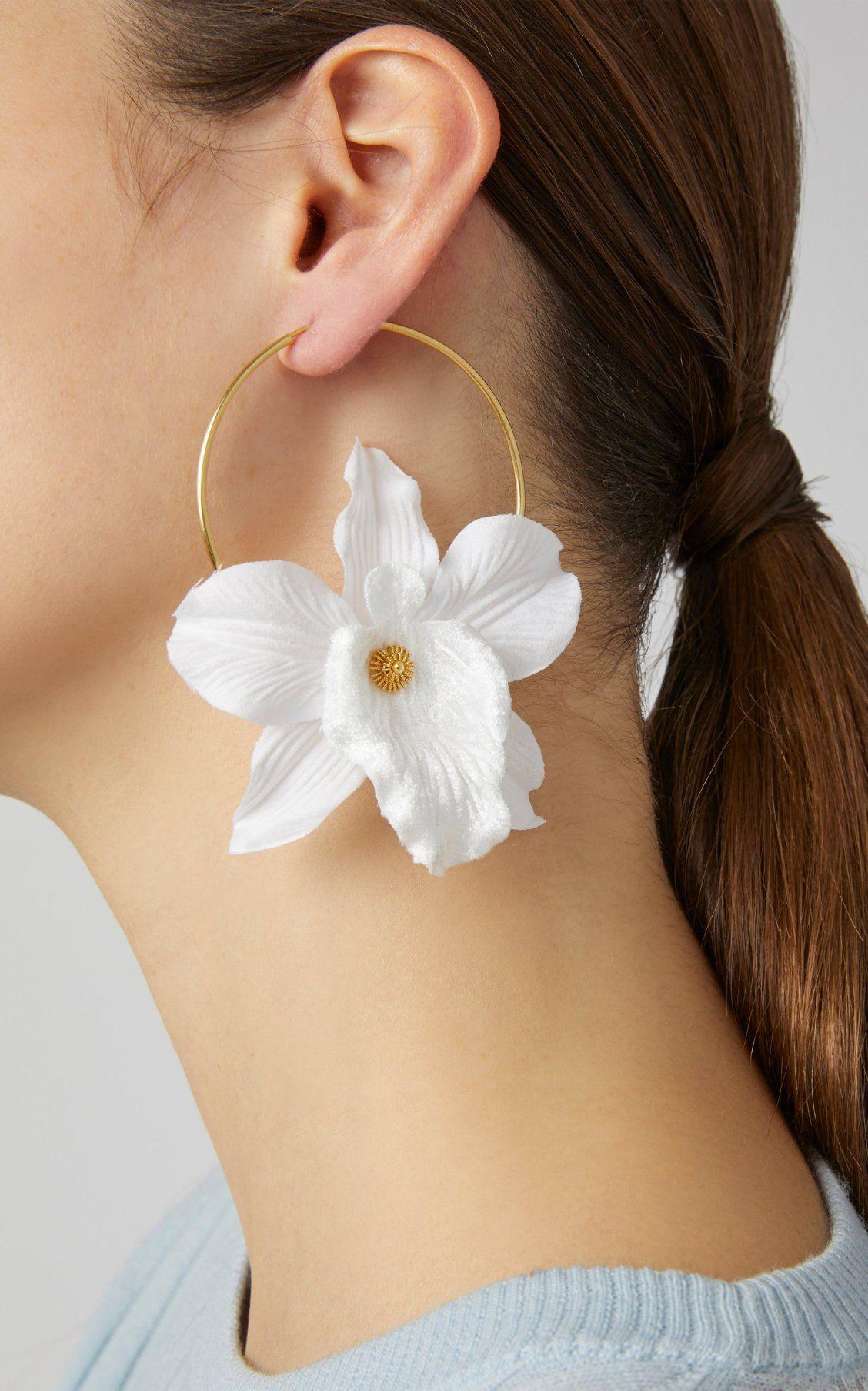 Margaritas  Flower earrings  Mini flowers