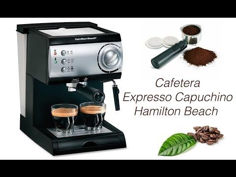 Hamilton Beach - Espresso - YouTube