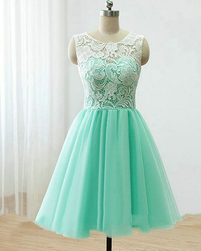 Mint Green Cocktail Dresses