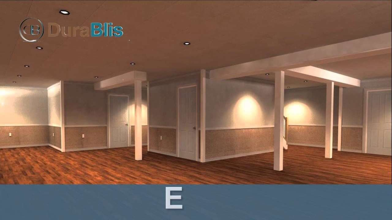 Basement plan and design unfinished basement bedroom ideas