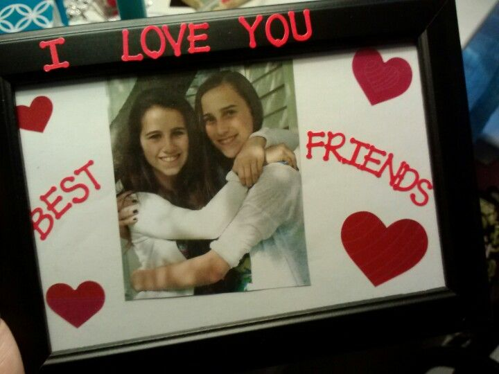 Diy Valentine 39 S Day Gift I Made For My Best Friend In A