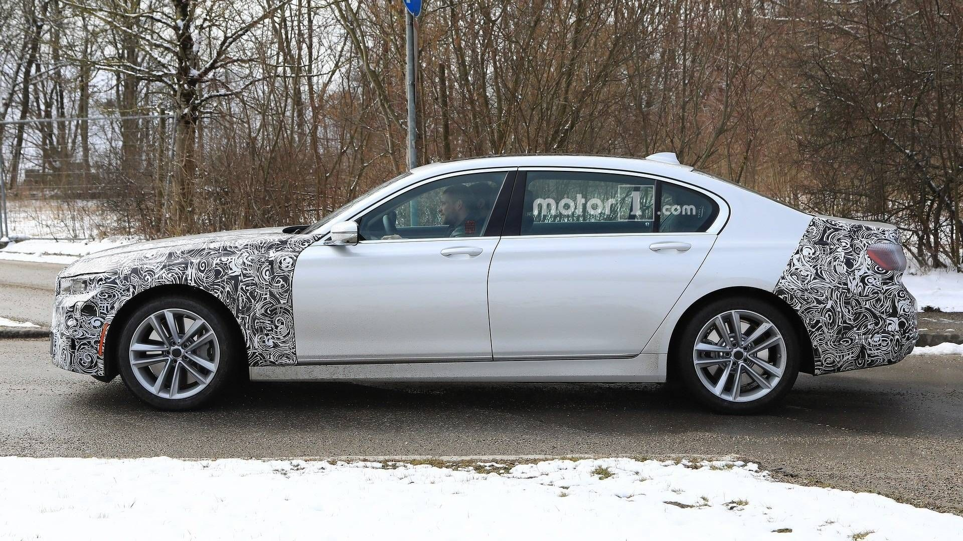 2020 Bmw 750li Spy Shoot Bmw New Cars Vw Fox