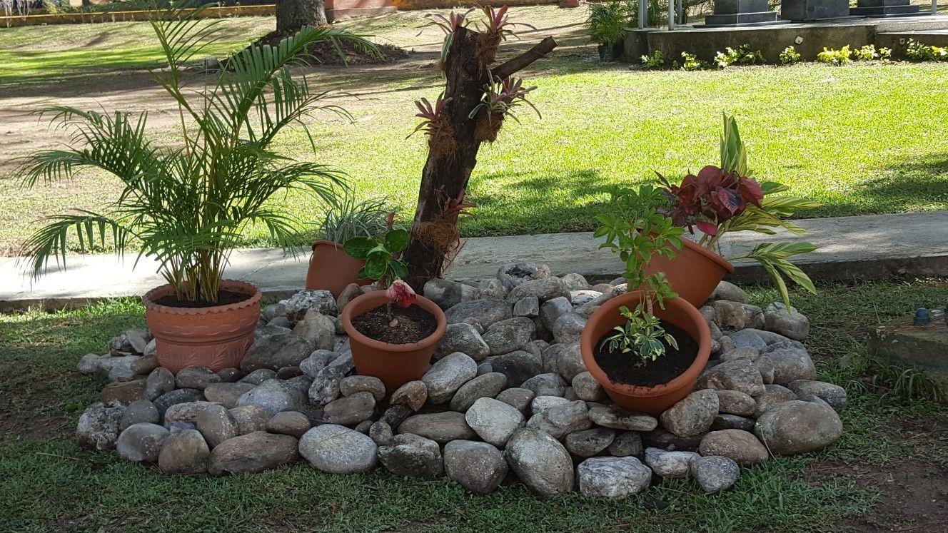 Jardin Con Piedras Jardin Con Piedras Decoraciones De Jardin Jardines