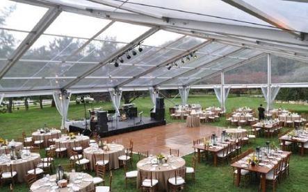 Backyard Wedding Tent Ideas Dance Floors 29 Ideas #wedding ...