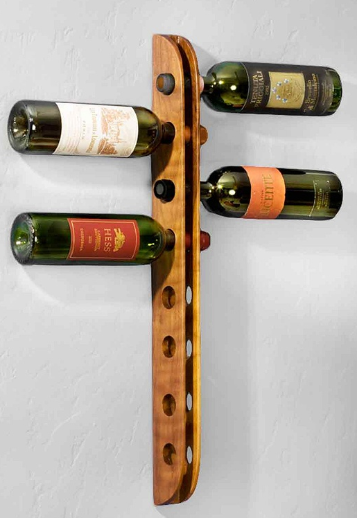 Awesome Hanging Wine Rack Plans Here S A Wine Rack Plan For A Modular Style Wine  Rack That Is Mounted To The Wall In Your Home Also Wall Mounted Wine Bottle  Holder ... Pictures