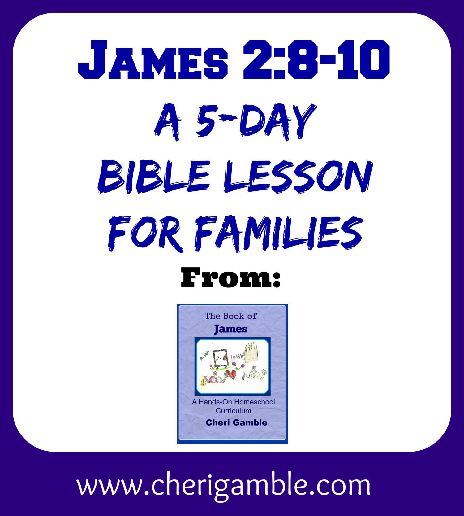 James 2 Study For Families