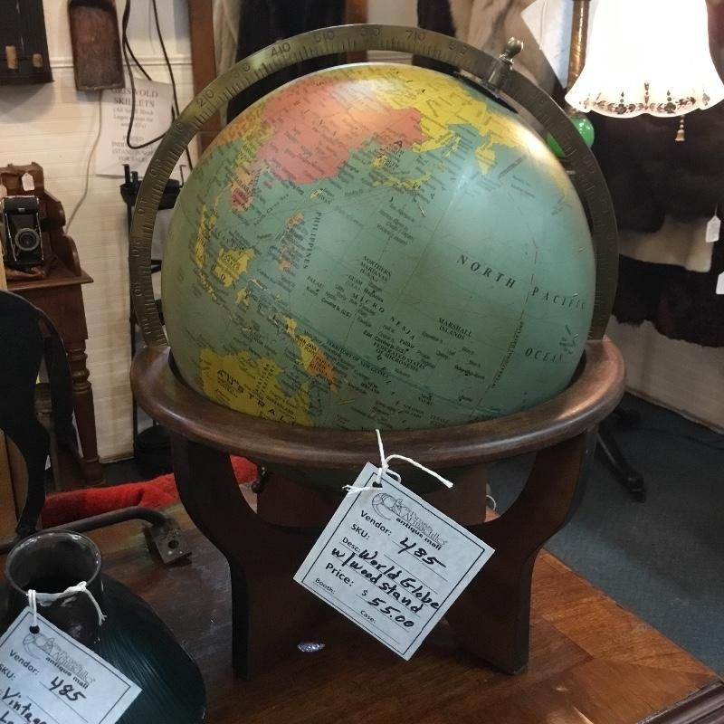 Awesome World Globe With Wood Stand Very Unique Stands 17