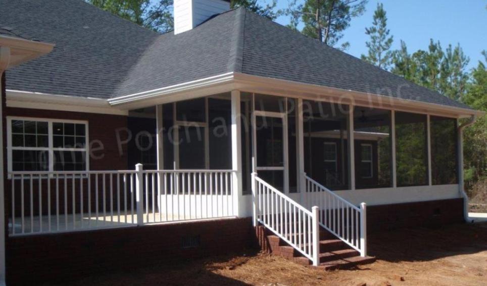 Diy aluminum porch screening system outdoor patio