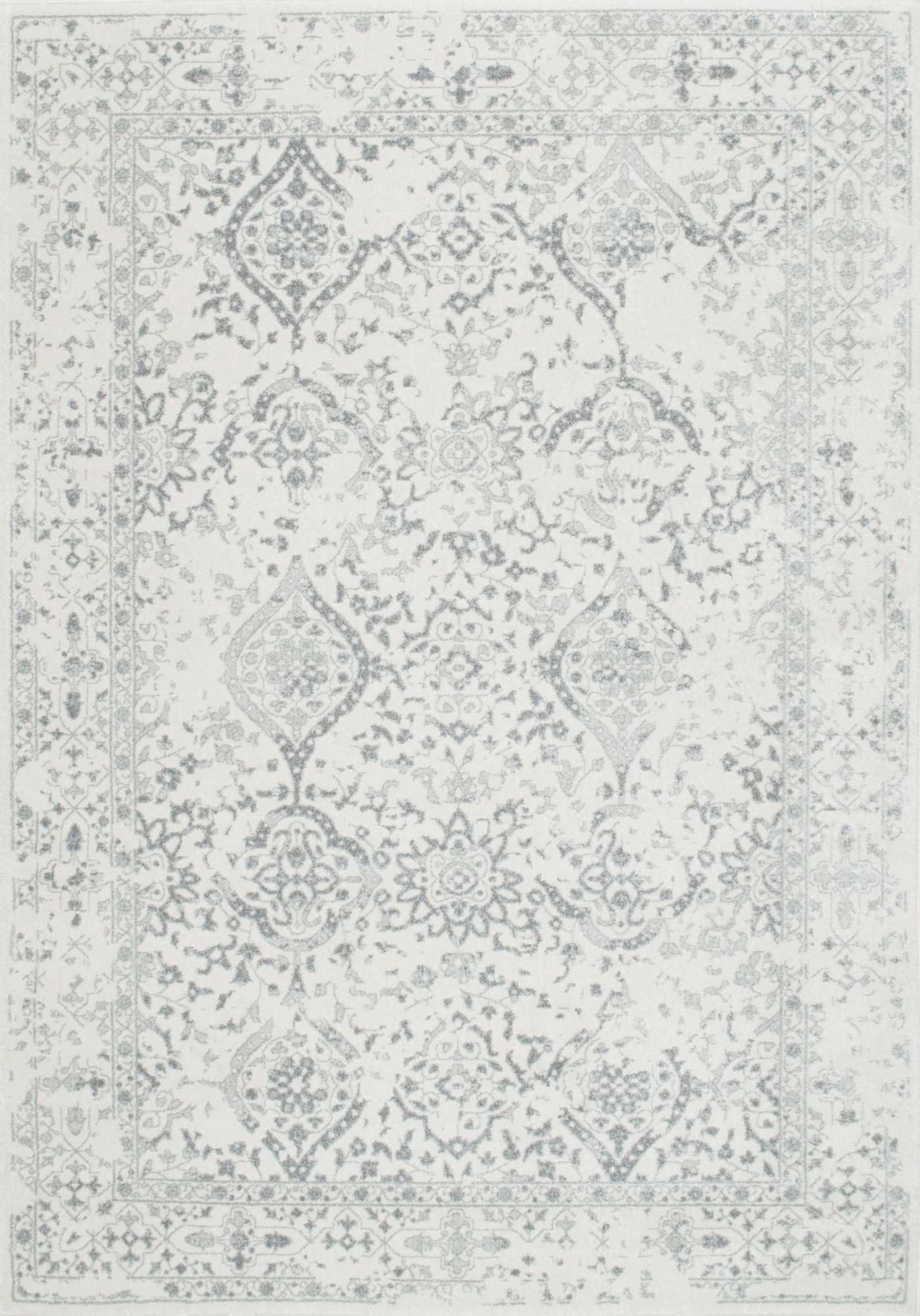 Aren t the details in this ivory rug just stunning A true