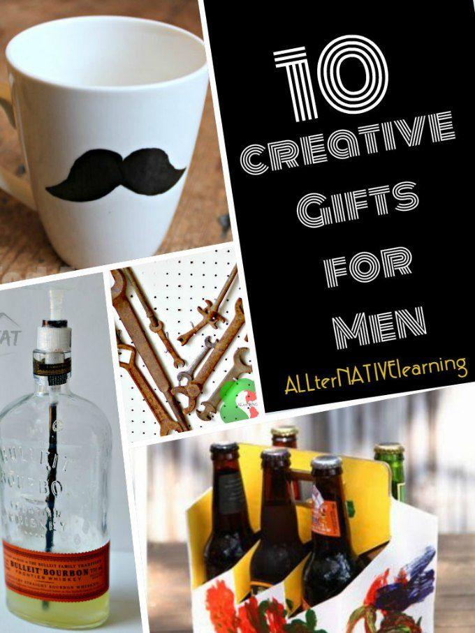 Creative Homemade Gifts For Men Handmade Gifts Pinterest