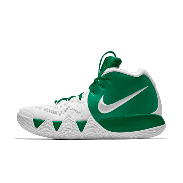 Kyrie 4 Id Men S Basketball Shoe Green Basketball Shoes Basketball Shoes Cool Nike Shoes