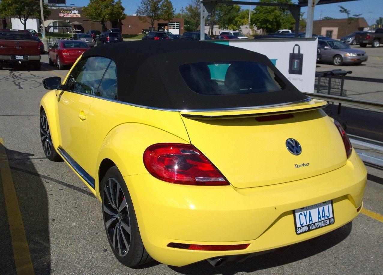 2014 Volkswagen Beetle Convertible Type R Volkswagen