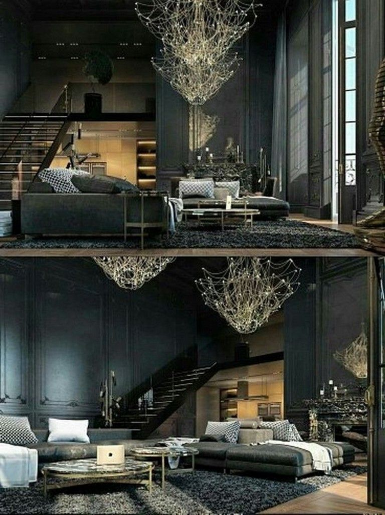 22 Stunning Modern Gothic Bedroom Design Decorating Ideas With