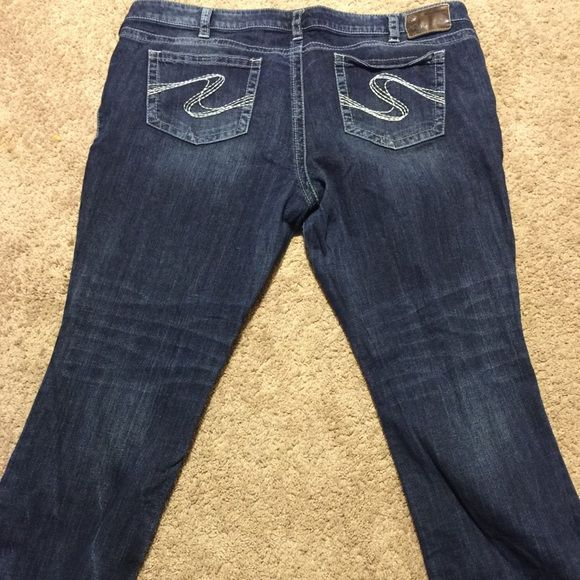 Aiko silver jeans Size 24/33 Aiko style silver brand jeans.  Like new only worn a couple of times. Silver Jeans Jeans Boot Cut