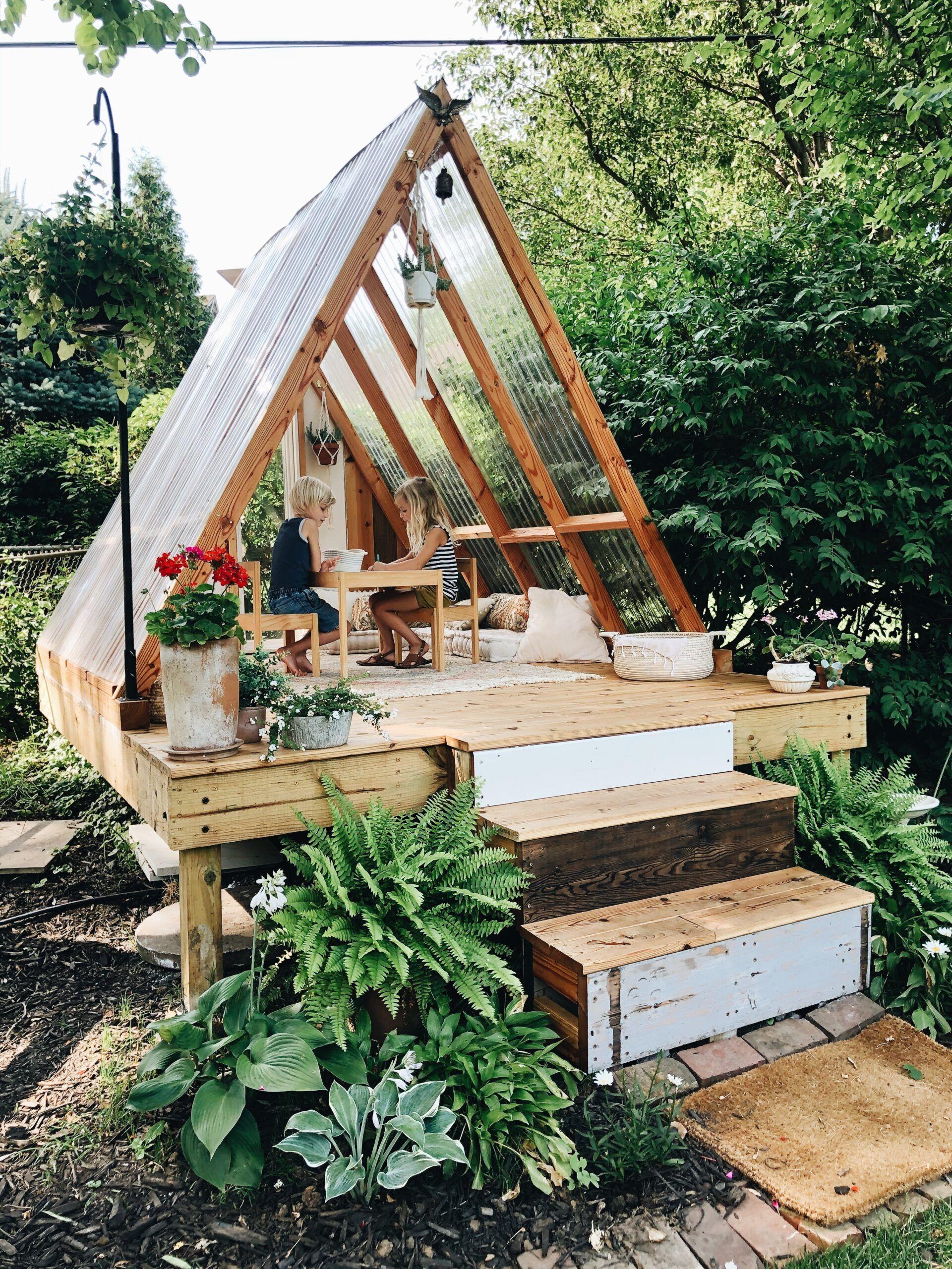 Summer's Canceled, So We Built a Playhouse